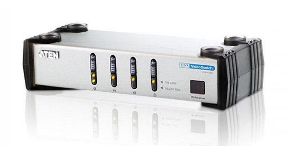 Switch video DVI 4 vie con Audio