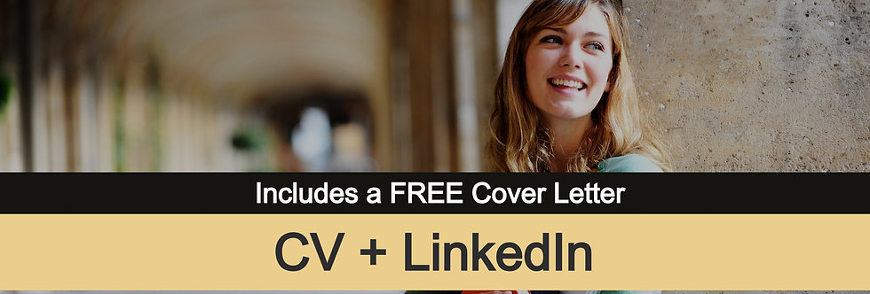 Entry-Level CV + LinkedIn Profile [All-in-One Package]