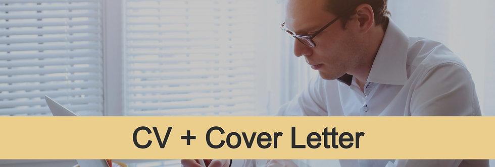 Junior-Level CV + Cover Letter