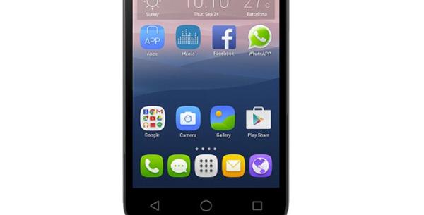 """ALCATEL 5054D POP 3 5.5"""" 8GB DUAL SIM 4G LTE ITALIA METALLIC SILVER"""