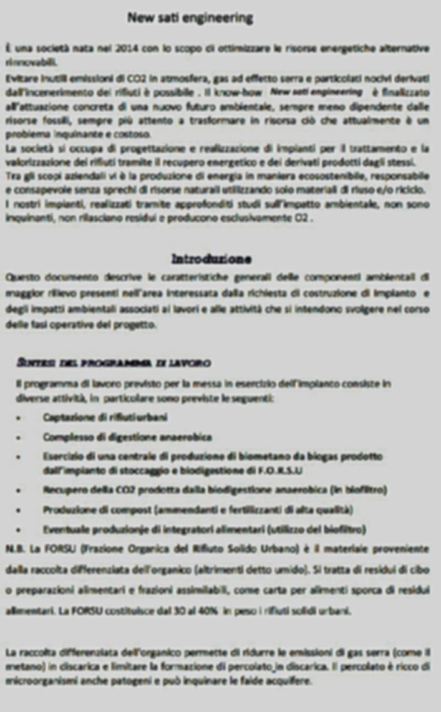 presentazione impianti biometano