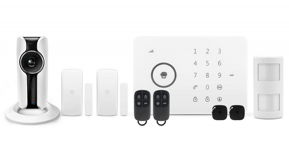 Sistema di allarme Wireless GSM/SMS/RFID con telecamera WiFi HD G5i Plus