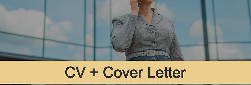 Senior-Level CV + Cover Letter