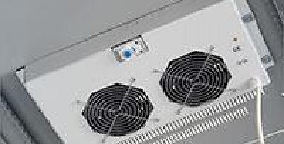'Gruppo di Ventilazione a Soffitto per Rack 19'''' 2 Ventole Grigio'