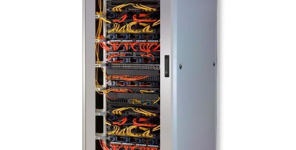 'Armadio Server Rack 19'''' 600x1000 42 Unita'' Grigio serie Lite'