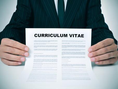 Curriculum Vitae – Deciding Your First Impression
