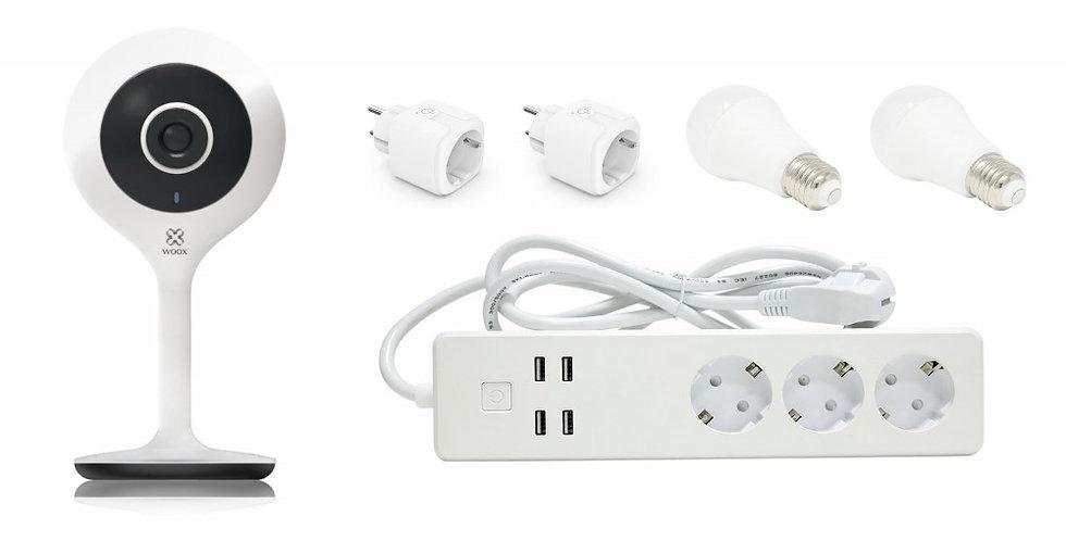 2 PZ Pacchetto Smart Home Completo Controllo Vocale Alexa, R4444