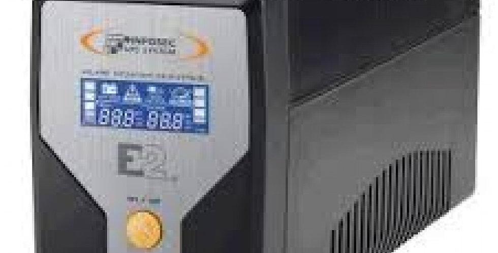 Gruppo di Continuità UPS E2 600VA Line Interactive Onda Sinusoidale