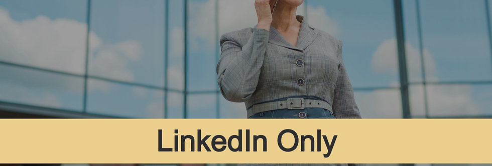 Senior-Level LinkedIn Profile