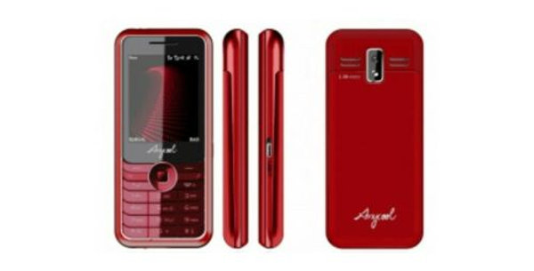 "ANYCOOL M600 2"" MESSENGER RADIO FM BLUETOOTH DUAL SIM RED ITALIA"