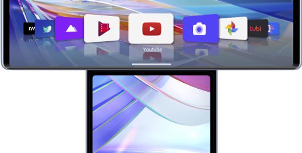 "LG WING 6,8""+3,9"" 128GB RAM 8GB DUAL SIM 5G ILLUSION SKY"