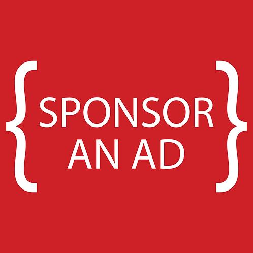 Sponsor an Ad