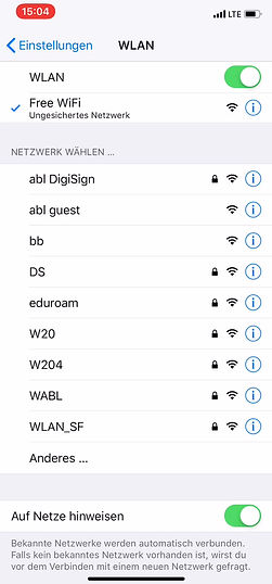 Showcase SEAT WiFi MAS