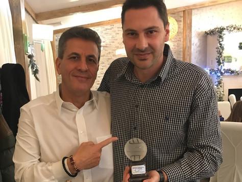 Мъжкият отбор на ВК Хебър е отбор на годината на град Пазарджик