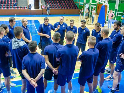 """Мъжкият отбор на ВК """"Хебър"""" започна подготовка"""