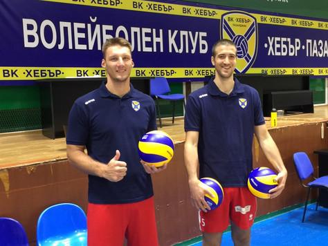 """Ляфтов и Стефанович вече тренират с """"Хебър"""""""