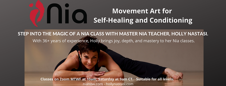 Copy of Nia Classes with Holly Nastasi M