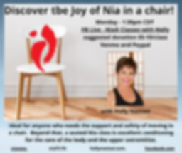 Discover tbe Joy of Movement in a chair