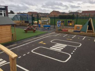 Mini Millfields childrens playground for two year olds