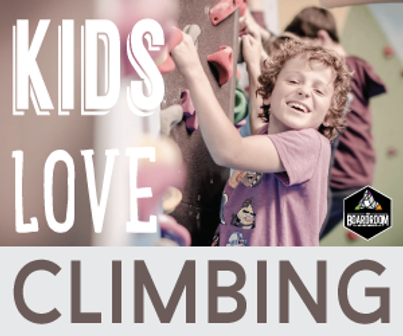 Kids love climbing