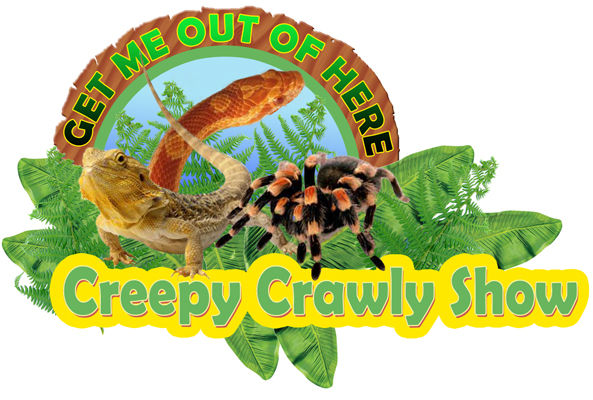 Creepy Crawly Show animal encounter parties logo