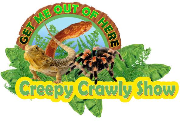 Creepy Crawly Show animal encounter parties logo