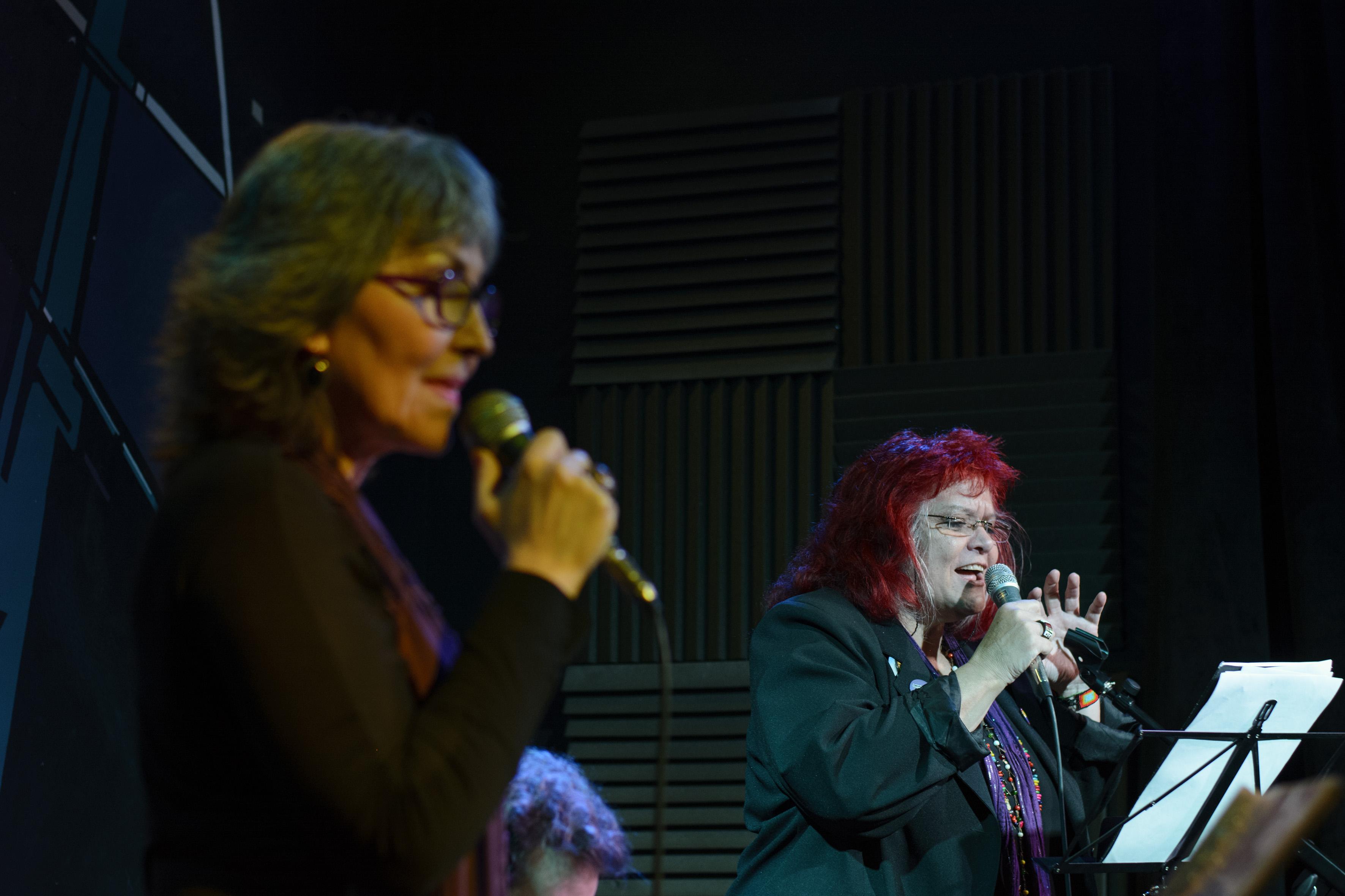 Liliana Daunes y Patricia Andrade