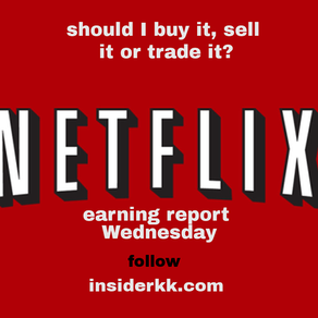 The secret of Earnings Reports, Netflix up next, how will you do?