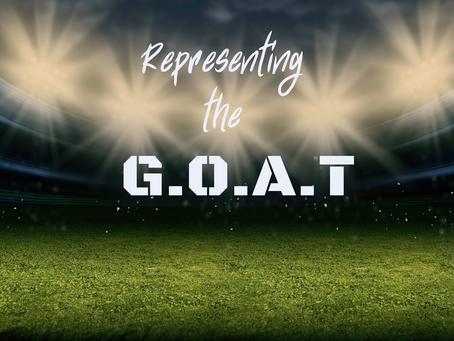 Representing the G.O.A.T