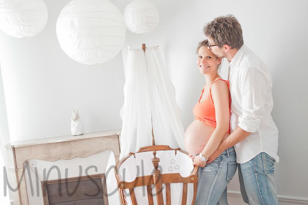 baby nursery white