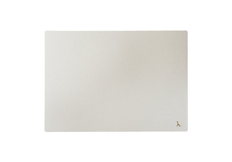 The Rollo Collection - Mouse Mat - Blossom White (Pearlescent)