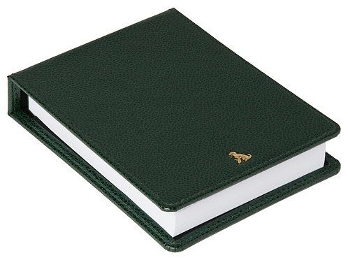 The Rollo Collection - Desk Jotter - Racing Green
