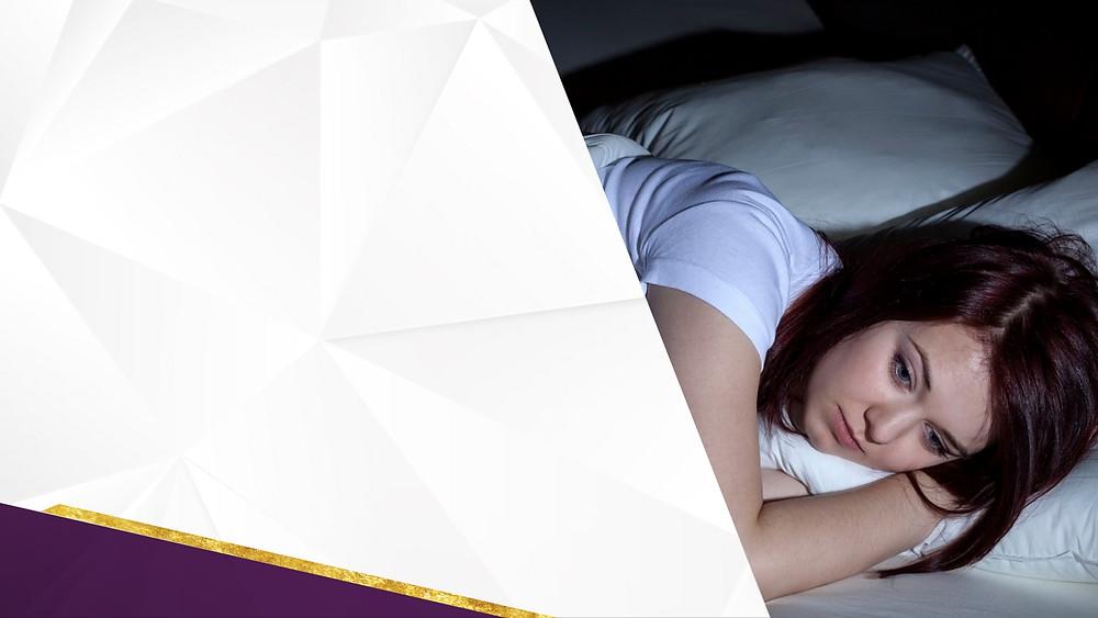 นอนไม่หลับ อ่อนเพลีย หลับๆตื่นๆ