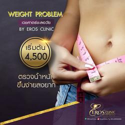 น้ำหนักขึ้นง่ายลงยาก