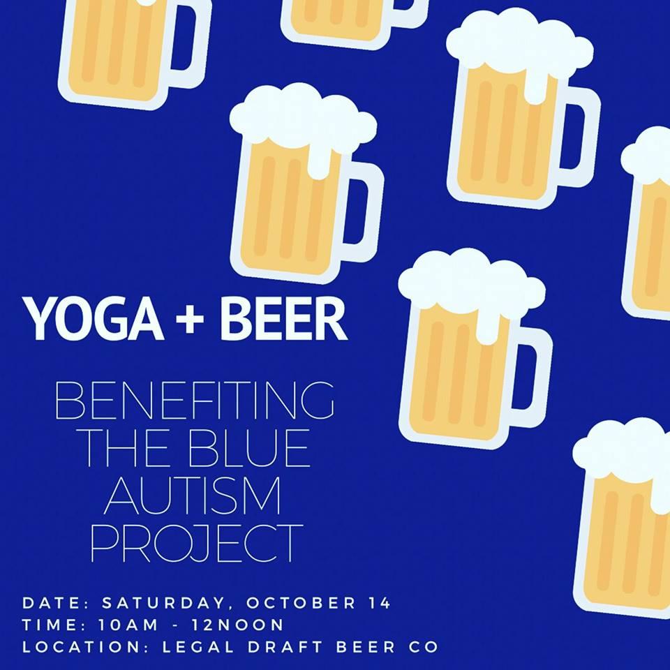 Yoga + Beer Fundraiser