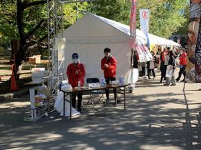 「まるごと根室直送市」北海道庁旧赤レンガ庁舎前にて、只今開催しております!