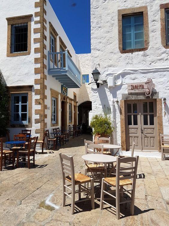 Patmos Sokaklar | Gezi Bahçesi Seyahat