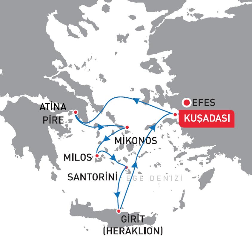 Yunan Adaları Vizesiz 7 Gün Celestyal Crystal
