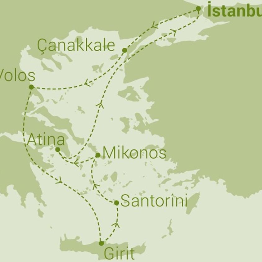 Celestyal Crystal İstanbul Çıkışlı 6 Gece 7 Gün Yunan Adaları (Eclectic Aegean)