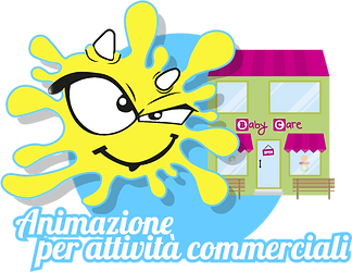 Animazione bambini per eventi pubblicitari, sponsorizzazione, con tantialtri servizi e divertimenti