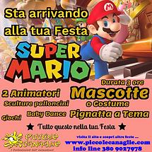Animazione Bambini Festa a Tema Super Mario