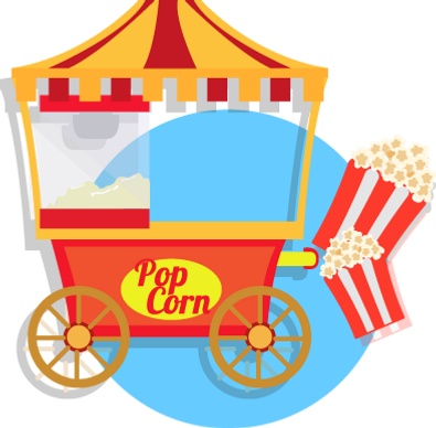Macchina Pop Corn | Piccole Canaglie Animazione Feste per Bambini | Roma