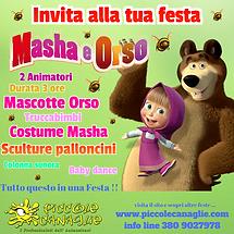 Animazione Bambini Festa a Tema Masha e Orso