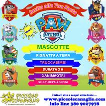 Animazione Bambini Festa a Tema Paw Patrol