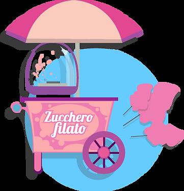 Zucchero Filato | Piccole Canaglie Animazione Feste per Bambini | Roma