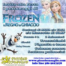 Animazione Bambini Festa a Tema Frozen