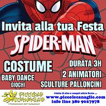 Animazione Bambini Festa a Tema Spiderman