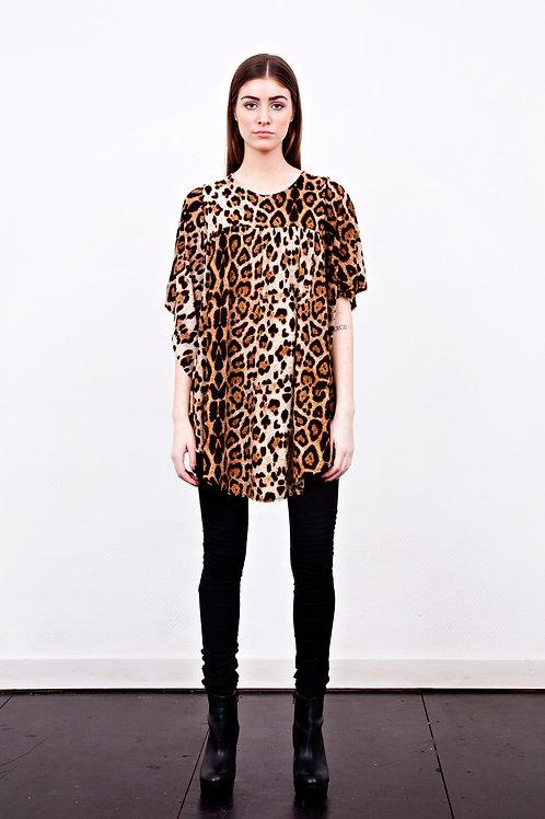 Sasha Leopard Top