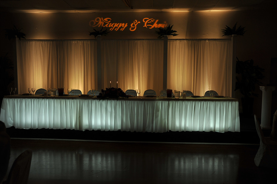 Head Table Designs