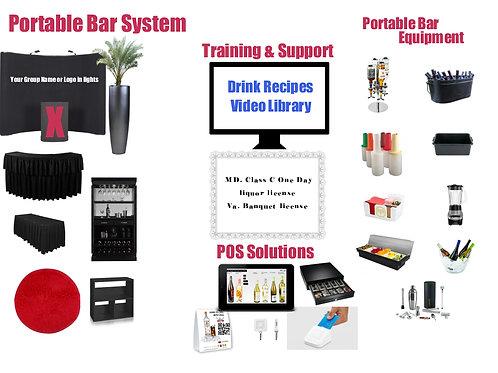 Portable Bar System